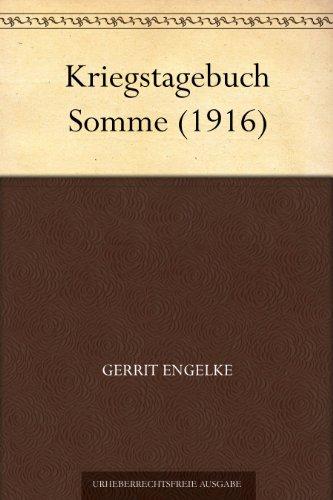 Kriegstagebuch Somme (1916)