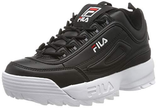 Fila Disruptor Low Wmn, Zapatillas para Mujer, Negro Black 25y, 40 EU