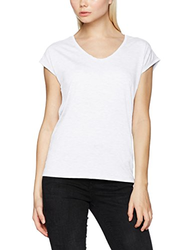Pieces Pcbillo Tee Solid Noos, T-Shirt Femme Blanc (Bright White)