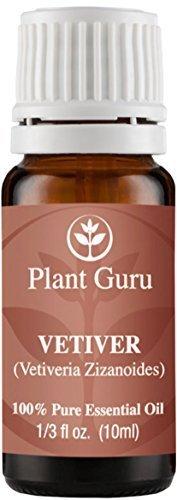 Vetiver Essential Oil. 10 ml. 100% Pure