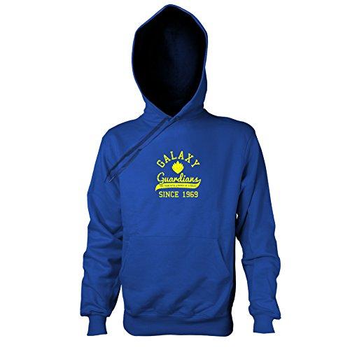 TEXLAB - Guardians College - Herren Kapuzenpullover, Größe XL, marine (Star Lord Kostüm Hoodie)