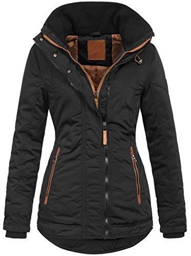 Warme Damen Winter Jacke Wasserabweisend Winddicht Parka S-XXL B509