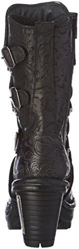 New Rock Damen M Neotr005 S25 Stiefel & Stiefeletten Schwarz - Schwarz (Black)