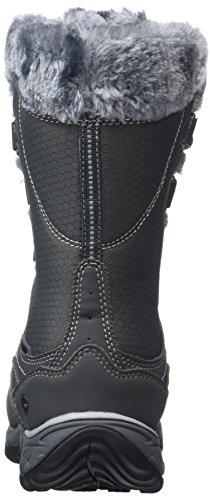 Hi-Tec Damen Equilibrio St Bijou Mid 200 I Waterproof Trekking-& Wanderstiefel Grau (Charcoal)