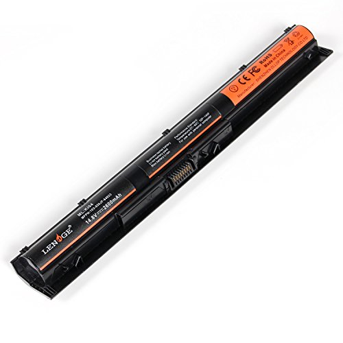 LENOGE KI04 Laptop Akku für HP HSTNN-LB6S HSTNN-LB6R Pavilion 14-ab006TU 15-ab038TX 800050-001 800049-001 800010-421 HSTNN-DB6T 822904-A21 800009-421 800050-001 800010-421 (14.8V, 2600 mAh) -