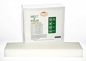 Soapy Twist Goat Milk Melt and Pour Soap Base, 1kg