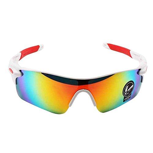 Gespout Sonnenbrille Frauen Mädchen Sonnenschutz Polarisierte Kunststoffe Glasses für Geschenk Strand Gläser Fahrrad Zubehör Sport 1pcs Style-1