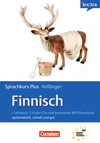 Lextra - Finnisch - Sprachkurs Plus: Anfänger: A1/A2 - Selbstlernbuch mit CDs und Audios online
