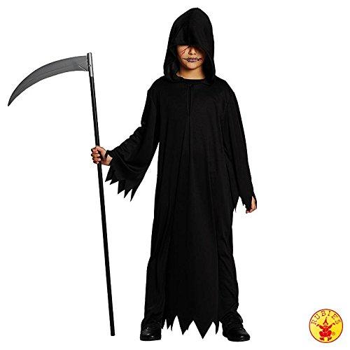 Costume da morte per halloween bambino 9/10 anni (134/140)