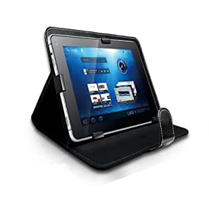 """TMLM® Black 7"""" Universal Faux Leather Case Cover For All 7 inch Android Tablet, iPad Mini, Galaxy Tab 2, Tab 3, Nexus 7"""
