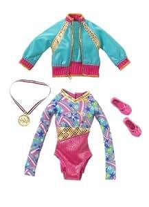 Mattel - R4257 - Barbie - Accessoire Poupée - Tenue de Gym