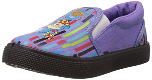 Keymonache Baby Boy's Purple Canvas Sports Shoes - 12C UK  available at amazon for Rs.149