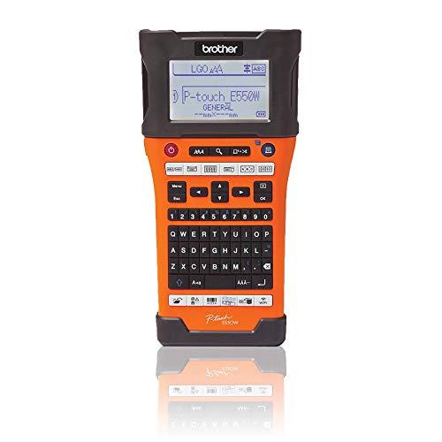 Brother PT-E550WVP Industrielles PC-Beschriftungsgerät mit WLAN (für 3,5-24 mm breite TZe-Schriftbänder und 5,8-23,6 mm breite HSe-Schrumpfschläuche)