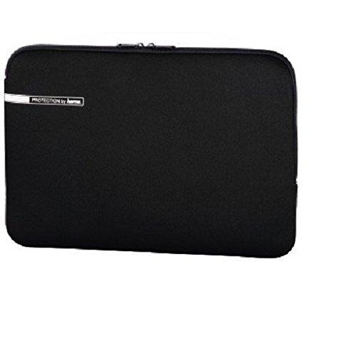 Hama Notebook-Schutzhülle für Laptops bis 40 cm (15,6 Zoll), Neopren, schwarz