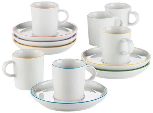 Arzberg Form Cucina Colori Espressoset 12-tlg. -Sondersortierung- - Arzberg Set