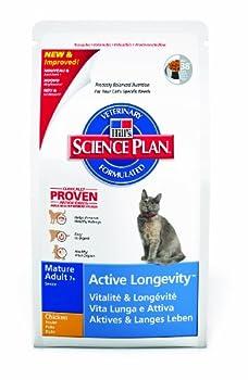 Hill's Science Plan Feline Mature Vitalité & Longévité Sachet de Nourriture pour Chat Agé +7 Ans Poulet 2 kg