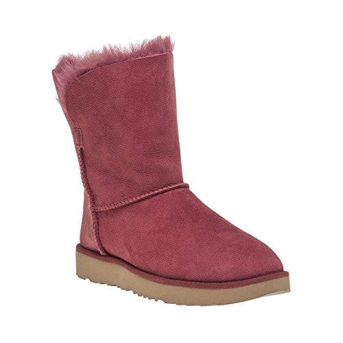 Ugg Classic Short Cuff Femme Boots Rouge