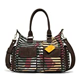 Desigual Damen Handtasche Tasche Henkeltasche SONIA LONDON Braun 18WAXF04-4109