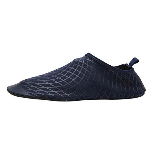Leezo Unisex Quick Dry Aqua Schuhe Barfüßighaut Schuhe Wasser Socken Paar Wasser Schuhe Zum Schwimmen Walking Yoga See Beach Garden Park Fahren Bootfahren