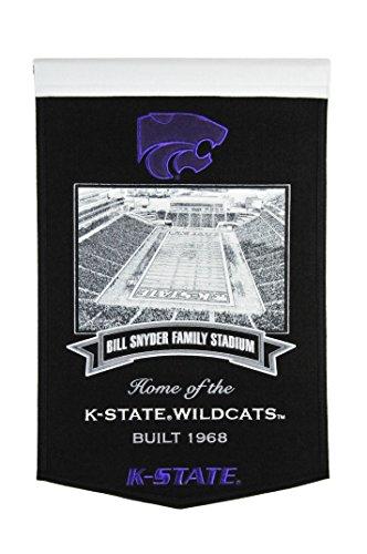 NCAA Kansas State Wildcats Bill Snyder Familie bannerbill Snyder Familie Banner, Schwarz, Stadion (Bill Stadium Family Snyder)