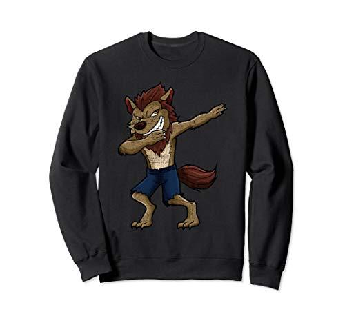 Dabbing Werewolf Funny Halloween Grunge Boys Kids Monster - Werewolf Boy Kostüm