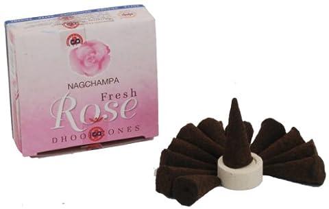 Satya Nag Champa Rose Incense Cones