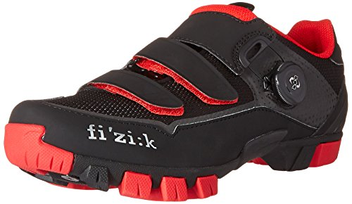 Fi'Zi:K M6b, Cyclisme unisex Black / Red