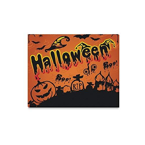 WDDHOME Wandkunst Malerei Happy Halloween Scary Creepy Halloween Pack Drucke Auf Leinwand Das Bild Landschaft Bilder Öl Für Zuhause Moderne Dekoration Druck Dekor Für Wohnzimmer