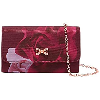 0983dfc9a851 Ted Baker Porcelain Rose Evening Bag  Amazon.co.uk  Shoes   Bags