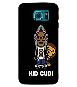 PrintDhaba Cartoon Design D-2416 Back Case Cover for SAMSUNG GALAXY S6 EDGE (Multi-Coloured)