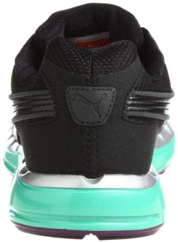 PUMA Faas 500 Wn's noir aqua vert gloxinia 2012 Chaussures de running BLACK/AQUA GREEN