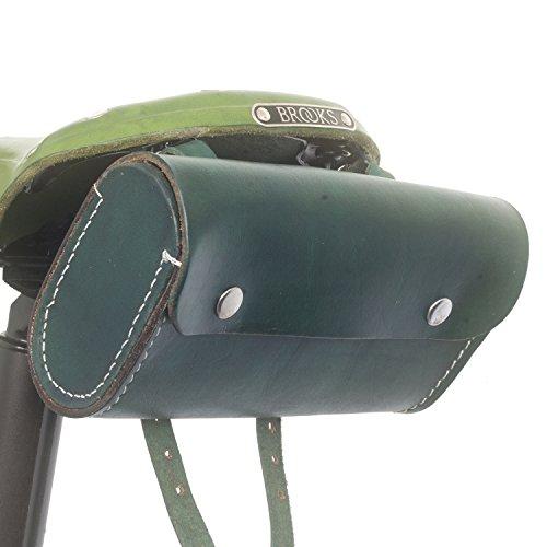 L02 - Sillín de Piel para Bicicleta, Diseño de Londres