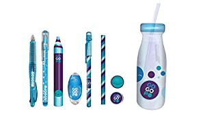 GOGOPO GOGOPO-GP1013 GP1013 Collectibles - Botella de Leche, Color Azul, Keycraft
