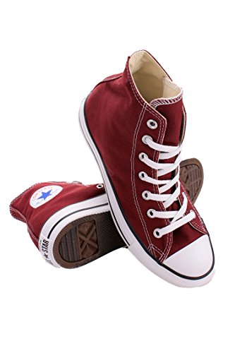 139784F MEN CHUCK TAYLOR ALL STAR HI CONVERSE BURGUNDY