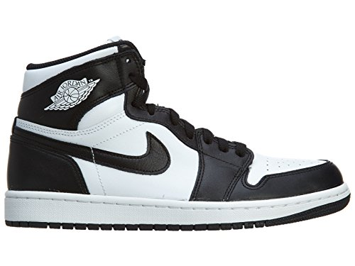 Nike Air Jordan 1 Retro High Og, Chaussures de Sport Homme, Blanc, S Black/White