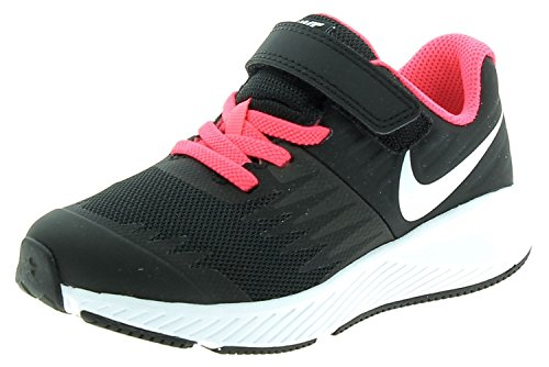 Nike Star Runner (PSV) – Chaussures de Running, Fille, Star Runner (PSV), Noir