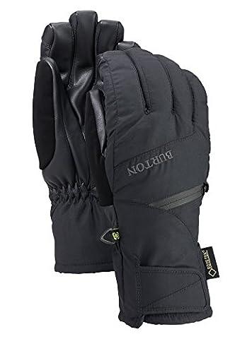Burton Damen Snowboardhandschuhe GORE UNDERGLOVE, True Black, L, 10361100002 (Gore Mikrofaser Handschuhe)