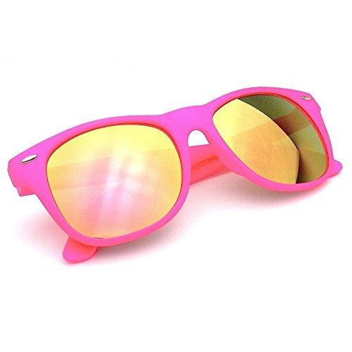 Emblem Eyewear - Revo Flash Color Espejo Reflexivo Lentes Neon Wayfare