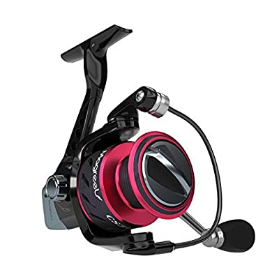 Magreel Spinning Reel Lightweight Smooth Fishing Spinning Reels with Plastic Spool for Freshwater and Saltwater Fishing