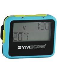Gymboss Minuteur d'intervalle et chronomètre – COQUE CIEL BLEU / JAUNESOFTCOAT