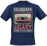 Guardians of the Galaxy 2 - Mixtape Vol. 2 T-Shirt Navy L