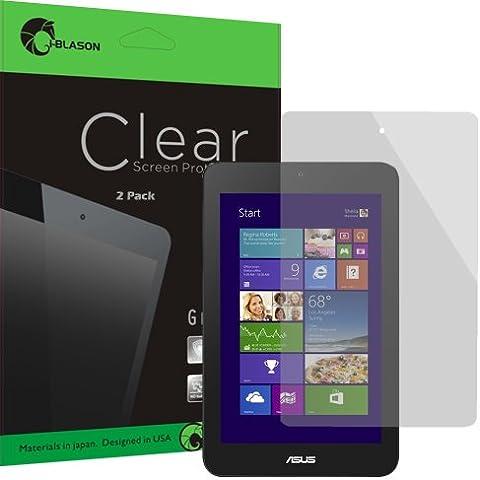i-Blason- Pack 2 protectores de pantalla para Asus VivoTab Note 8 M80T HD Clear Versión