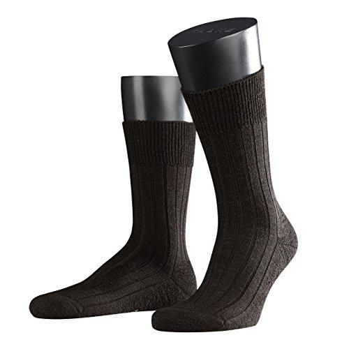 Preisvergleich Produktbild Falke Herren Socken Teppich im Schuh 2er Pack,  Größe:39 / 40;Farbe:dark brown melange