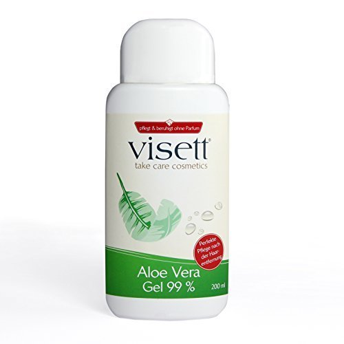 Visett: Aloe Vera Gel 99% (200 ml)