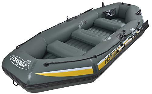 FISHMEN 500 II Boot Paddel Pumpe 328x144x46 Schlauchboot Angelboot Ruderboot Wassersport