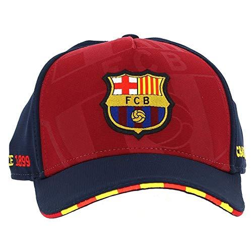 F.C. Barcelona BARÇA GORRA SOCCER JUNIOR BLAUGRANA T-U 20e4bd2ae55