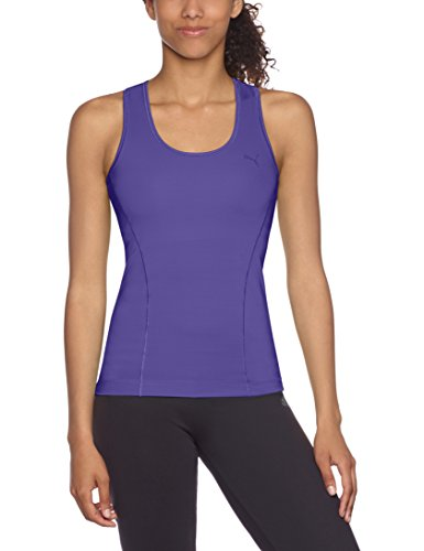 PUMA Damen Tank Top Ess Gym Racerback Blue Iris