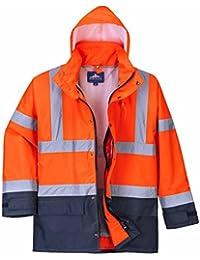 Portwest S768-5en1 de alta visibilidad chaqueta Ejecutivo