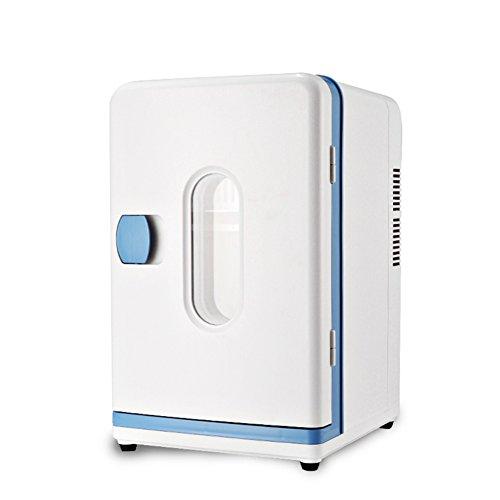 DULPLAY Portatile Compatto Mini Frigo Portatile,Raffredda E Riscalda Capacità 12 Litri 100% Senza Freon Include Spine Per Casa Presa & 12v Caricabatteria Da Auto-A 29.5x27x42.5cm(12x11x17inch)