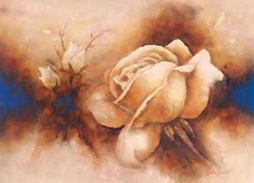 Betty Jansma – Rose II Kunstdruck (25,40 x 35,56 cm) (Roses Jansma Betty)